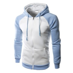 ZIPPER HOODIES MADE OF 100% COTTON FLEECE FF-2022