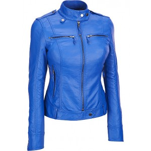 Women's Leather Short Jackets SSP 003
