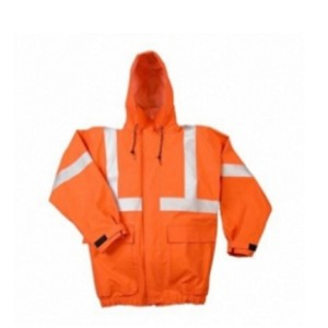 Men's Rain Jackets Orange & White  Model No TSI­5204