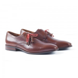 Oxford cut with a delicate hand stitching and elegance. nikoladas  leather shoe SP-97