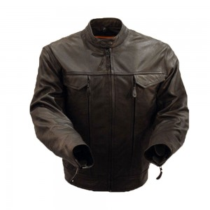 Leather Motorbike Jackets -- SPJ001