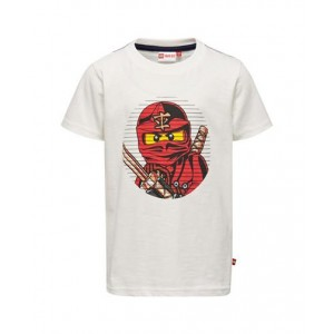 Boys Printed T-shirt White ISB 02