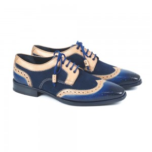 Pirate Blue Oxford Shoes  SP-288