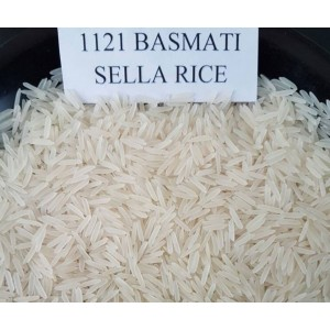 1121 White Sella Basmati Rice TDR 203