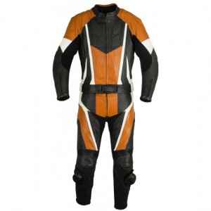 Motorbike & Auto Racing Leather Suit DR-108