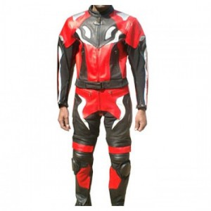 Motorbike & Auto Racing Leather Suit DR-101