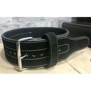 Leather Gym Weight Lifting Belt with Wrist Straps MLB 0142