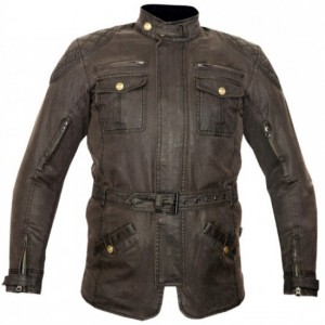Motorbike Cotton Wax Long Jackets DR- 0029