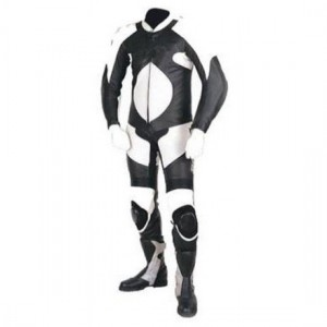 Motorbike & Auto Racing Leather Suit  DR-120