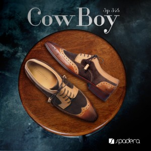 Western Cowboy Oxford Shoes  SP-345