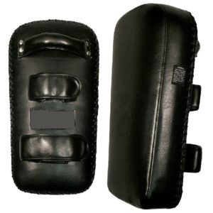 Extra Thick Thai Kick Pads Black Model No  CHS-075