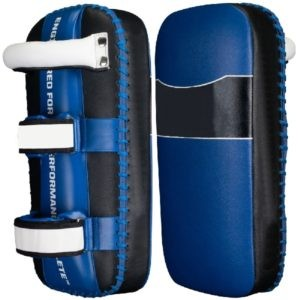 Extra Thick Thai Kick Pads Blue Model No . CHS-069
