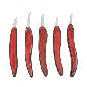 Chip Carving Knives Set 5 Pcs of  GT-4110