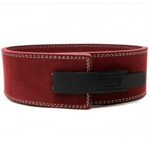 Leather Gym Weight Lifting Belt with Wrist Straps MLB 0141