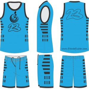 SUBLIMATION BASKET BALL UNIFORMS FF-2024