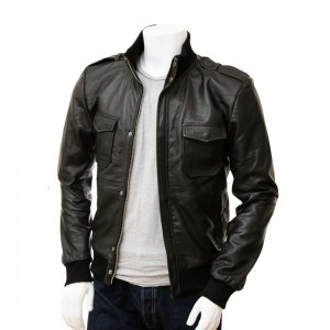Leather Fashion Jackets For Men SSP 006
