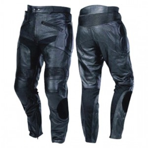 Motorbike Leather Trousers DRT-504