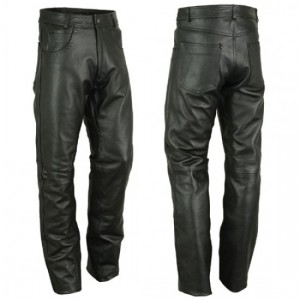 Motorbike Leather Trousers  DRT-501