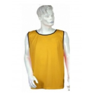 Men's  Training Vest Yellow  Color sleeveless Model No TSI­5106