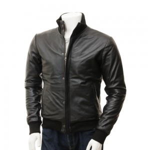 Leather Fashion Jackets For Men -- SPJ004