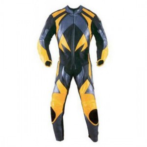 Motorbike & Auto Racing Leather Suit DR-123
