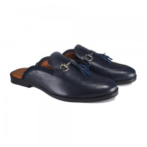 Blue tassel buckled  Brille leather shoe SP-83