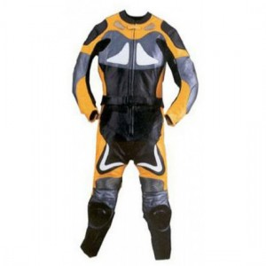 Motorbike & Auto Racing Leather Suit DR-124