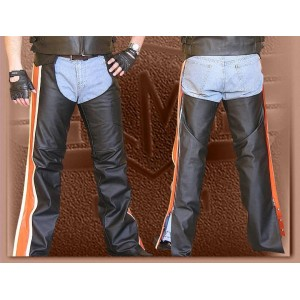 Motorbike Leather Chaps for Men Women TR 126
