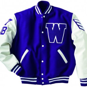 Baseball College School Varsity Jacket   KB -34
