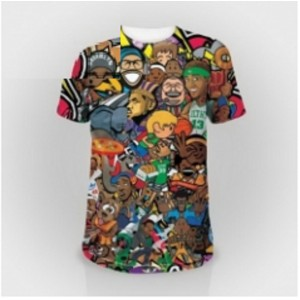 Men's Sublimation Shirts Multi color Model No TSI ­4703