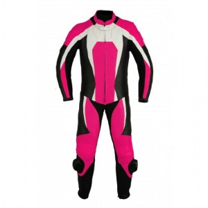 Motorbike Ladies Leather Suits   DRS-105