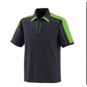 Men's Polo Shirts Blue & Green Color Half sleeves Model No TSI­4906