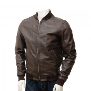 Leather Fashion Jackets For Men -- SPJ003