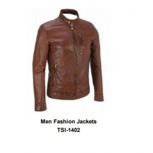 Leathers Men's  Jacket Impeccably tailored to walk the line between handsome and rugged.Brand New and unused Product .Men Fashion Jackets TSI­1402