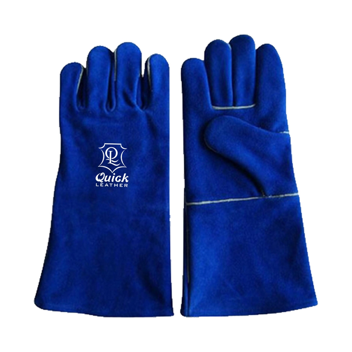 Welding gloves are excellent for use when welding in dry and oily conditions QL 208