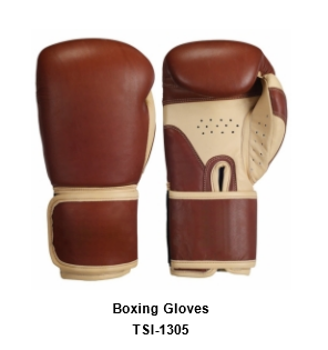 Genuine Leather Pro Style Boxing  Training Gloves TSI 1305