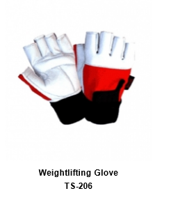 Weight Lifting Gym Workout Gloves with Wrist Wrap Support for Men & Women SI  205