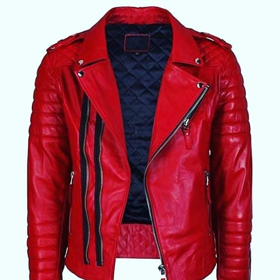 Motorcycle Men Leather Jackets TIMJ 004