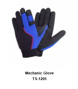 Mechanic Flex Grip Work Gloves, Shrink Resistant, Excellent Grip  TSI 1205