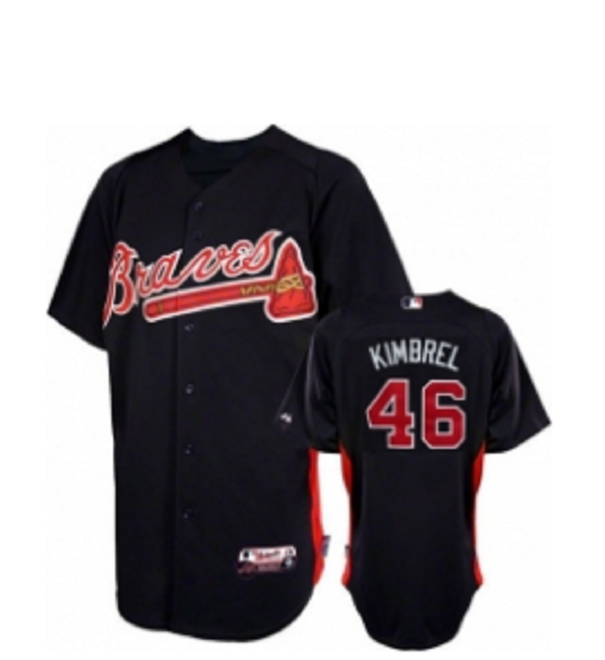 Baseball Uniforms Black Model No TSI­5510