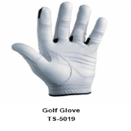 Men's Golf Gloves white  Model No.TSI 5019