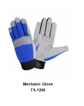 Mechanic Flex Grip Work Gloves, Shrink Resistant, Excellent Grip TSI 1208