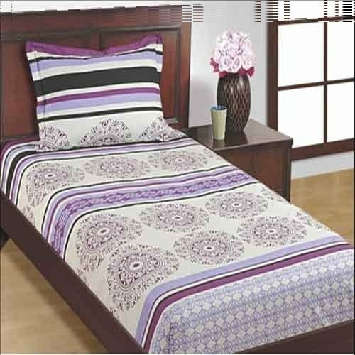 Luxurious 4 Piece Single Bed Set with Duvet Cover Fitted Sheet  AQF-0005