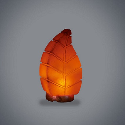 Leaf Salt Lamp