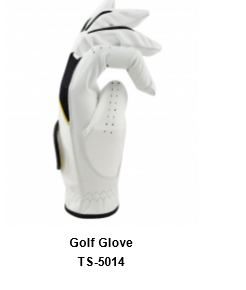 Men's Golf Gloves white Model No.TSI 514