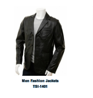 Leathers Men's  Jacket Impeccably tailored to walk the line between handsome and rugged.Brand New and unused Product .Men Fashion Jackets TSI­1401