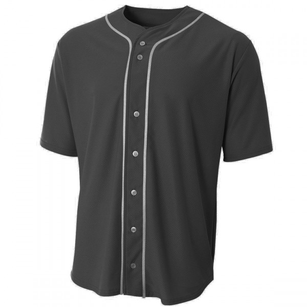 Premium Baseball Jersey Active Button Shirt Uniform for Men PES 002-003
