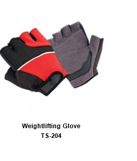 Weight Lifting Gym Workout Gloves with Wrist Wrap Support for Men & Women TSI  204