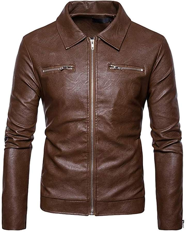 Motorcycle Men Leather Jackets  TIMJ   012