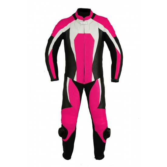 Motorbike & Auto Racing Leather Suit DR-105